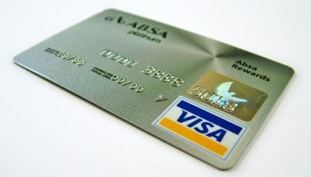 Серебряная кредитная карточка Visa
