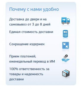 Скриншот с сайта topdelivery.ru