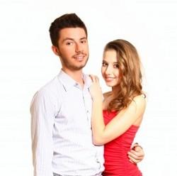 молодая супружеская пара